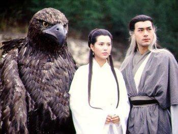 【细数那些小说中的雕雕们】   在《射雕英雄传》中,郭靖和华筝公主小